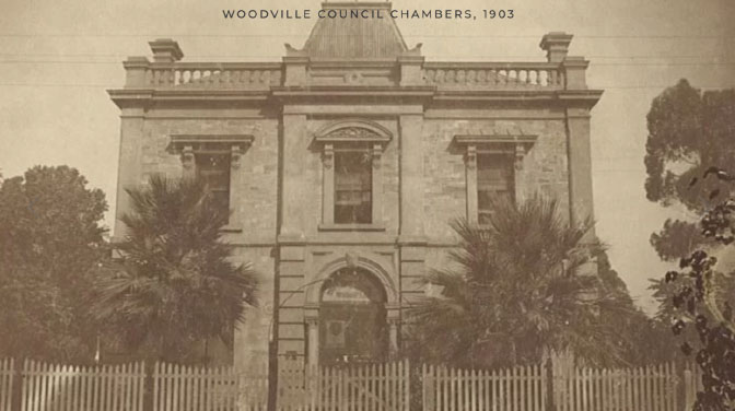 Woodville Council Chambers 1903